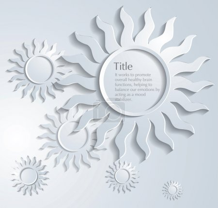 Photo for Circle compositions background - Royalty Free Image