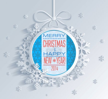 Photo for Merry Christmas and Happy New Year - Royalty Free Image