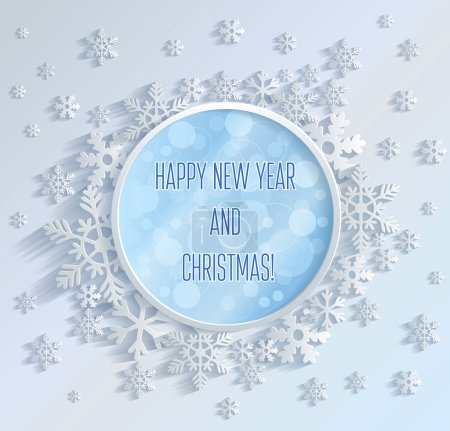 Photo for New Year card with Christmas - Royalty Free Image