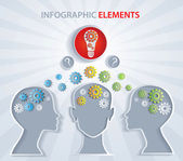 Exchange knowledge creative idea - Illustration