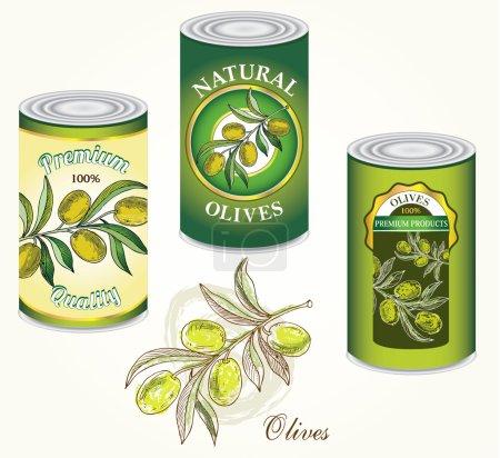 Photo for Jar of olives registration options - Royalty Free Image