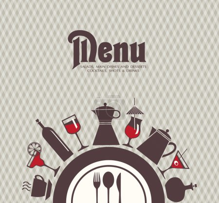 Photo for Menu bar, restaurant. - Royalty Free Image