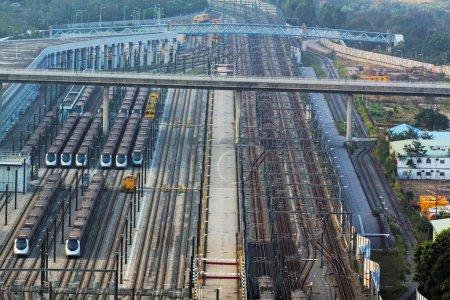 Foto de Estación de tren en Hong Kong - Imagen libre de derechos