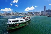 Victoria Harbor of Hong Kong