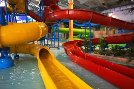 Indoor aquapark