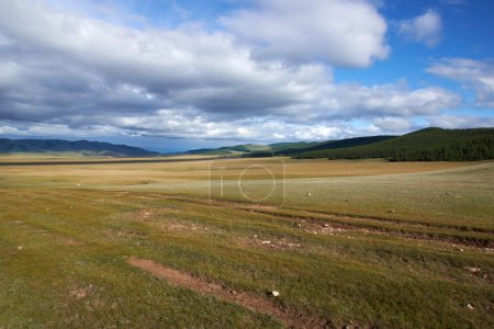 Hight lang valley in north Mongolia