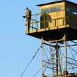 Border Guard watchtower and dummy soldier...