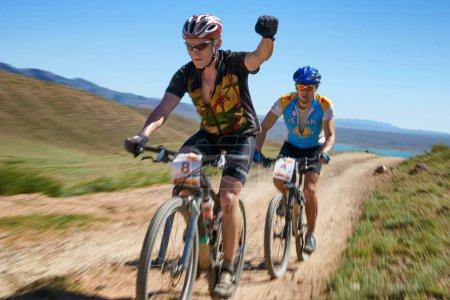 Mountain bike adventure competition