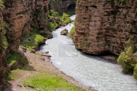 Aksu River Canyon