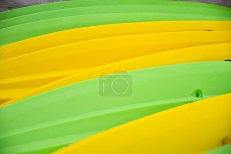 Abstract of Kayaks