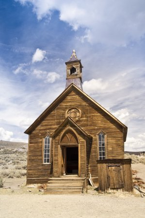 Pioneer Church at Bodie Ghost Twon