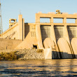 Eighty miles south of Hoover Dam, Davis Dam on the...