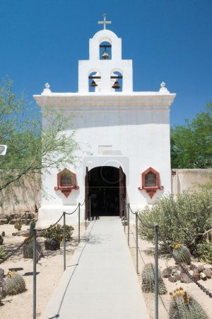 The Chapel at Mission San Xavier