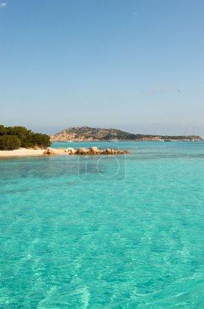 Paradise beach in Sardinia, Italy. Europe
