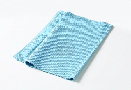 blaue Baumwollmatte