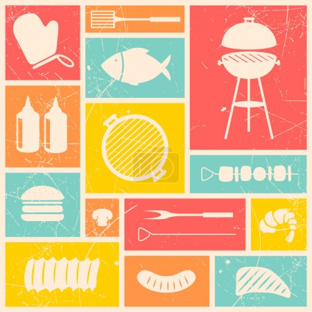 Barbecue Grill Icons