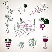 Wein-Elemente