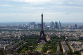 The city skyline at daytime. Paris, France