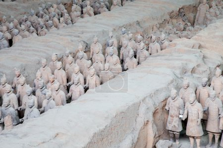 Qin dynasty Terracotta Army, Xian (Sian), China