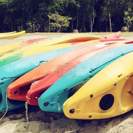 Bright kayaks