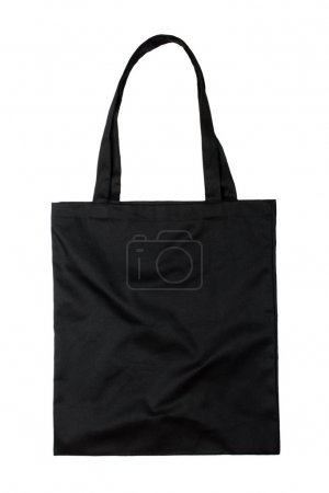 Black fabric bag