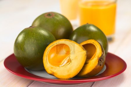 Peruvian Fruit Called Lucuma