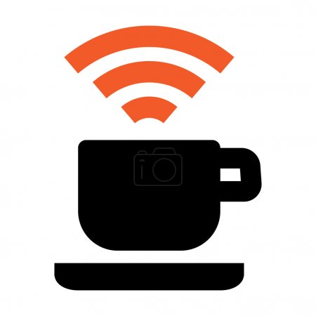 Free Wi-Fi coffee house area