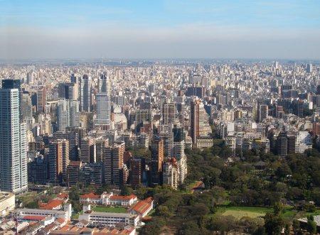 Aerial photo. Panorama of Buenos Aires, Argentina