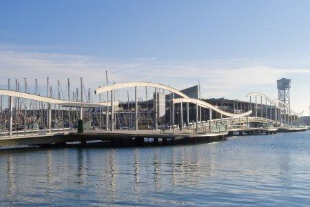 La Rambla de Mar is a promenade that runs from La ...