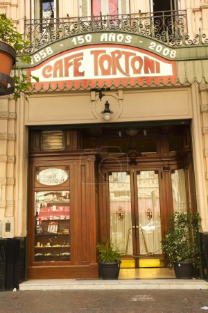 Cafe Tortoni, in May avenue, Buenos Aires, Argenti...