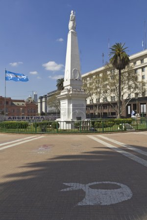 The Plaza de Mayo