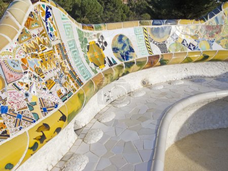 Mosaic of Park Guel