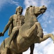 Statue of Alexander the Great at Thessaloniki city...