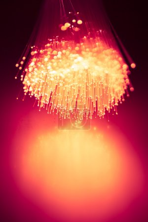 fiber optics light background
