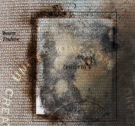 Photo pour Détail de vieux passeport britannique - image libre de droit