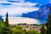 Mountain lake Lago di Garda
