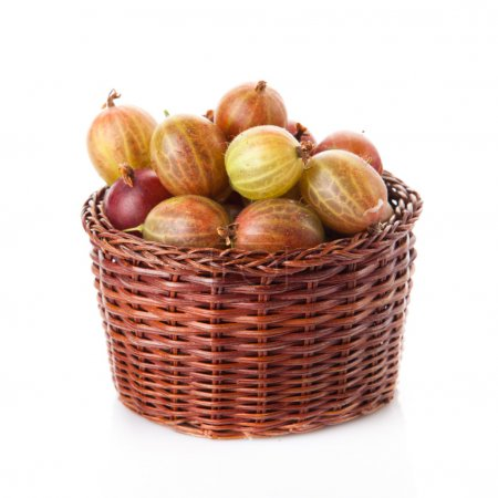 Gooseberry in basket