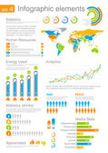 Human resources Infographics elements with icons For business and finance reports statistics diagram graph