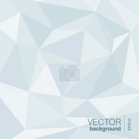 Illustration for Vector Background abstract triangle shape. Trendy style. - Royalty Free Image