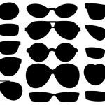 Set of different sun glasses...