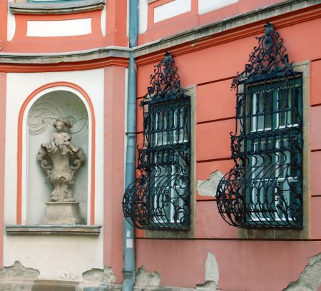 Detail of beautiful building