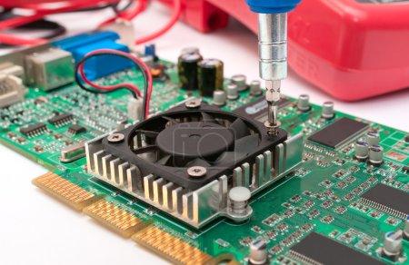 Circuit board mounting