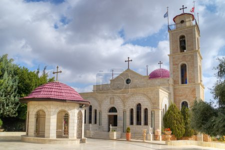 Greek Orthodox monastery on Shepherds Fields in Beit Sahour near