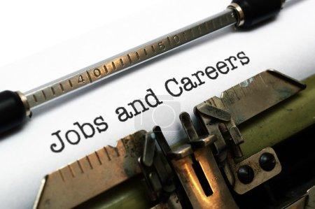 Photo pour Emplois et carrières - image libre de droit