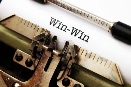 Photo pour Concept de win win - image libre de droit