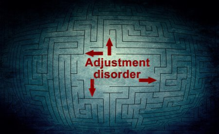 Photo for Adjustment disorder - Royalty Free Image