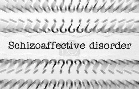 Photo for Schizoaffective disorder - Royalty Free Image