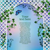 Romantic arbor with ivy
