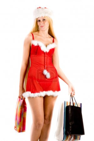 Would you like to carry my christmas shoppings