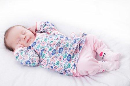 Little girl deep in sleep